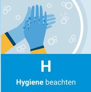 Hygiene beachten